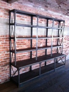 Amazoncom Industrial Pipe Shelf Brackets by DIY Cartel